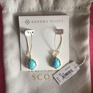 Kendra Scott Dee Earrings ~ Turquoise